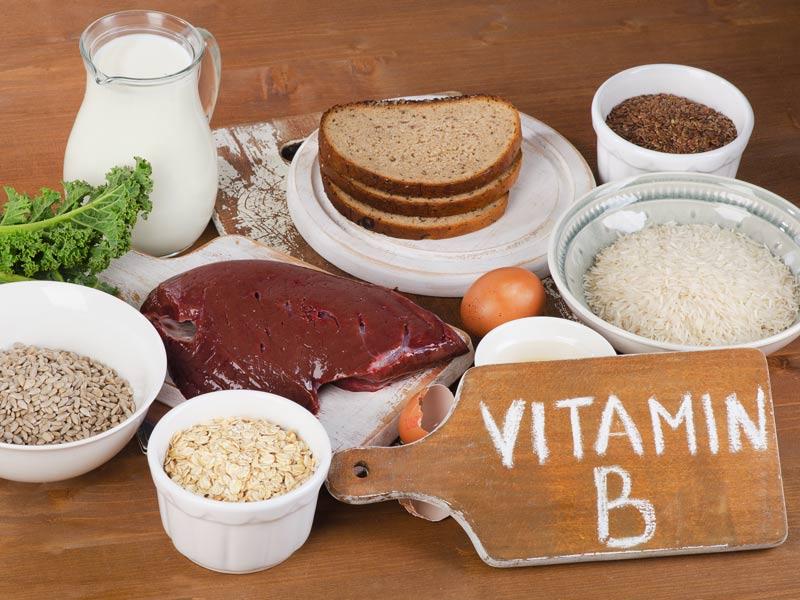 vitamines b kai trofima