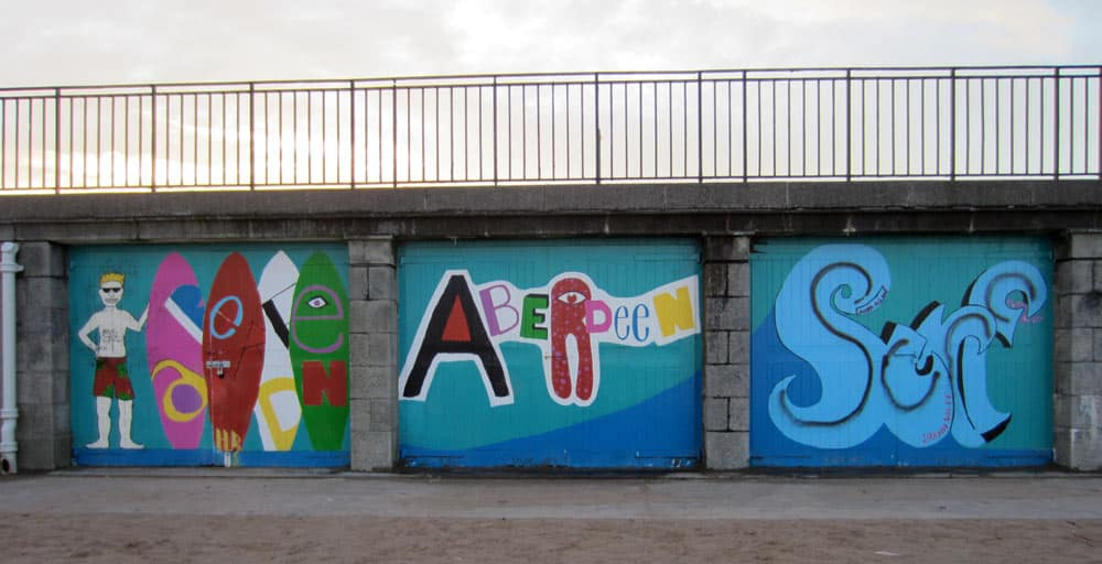 aberdeen surf graffity university