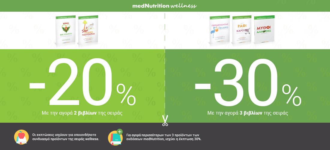 Εκπτώσεις εκδόσεων medNutrition wellness