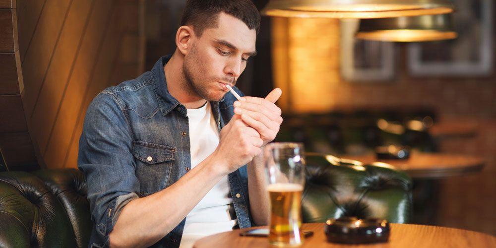 Αποτέλεσμα εικόνας για καπνισμα και αλκοολ