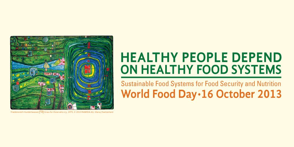 logotypo world food day 2013